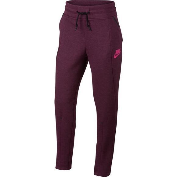 Nike Tech Fleece Pants Maroon