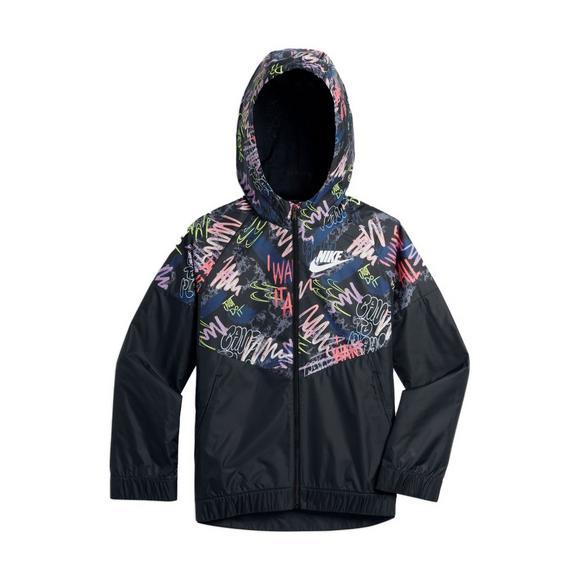 ebc60fc3280b Nike Girls  Fresh Prints Windrunner Jacket - Main Container Image 1