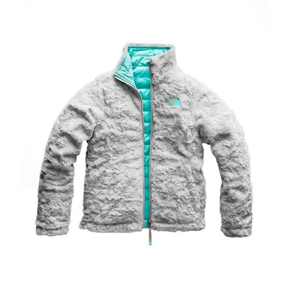 dfe4d6099a2a The North Face Girls  Reversible Mossbud Swirl Full Zip Jacket