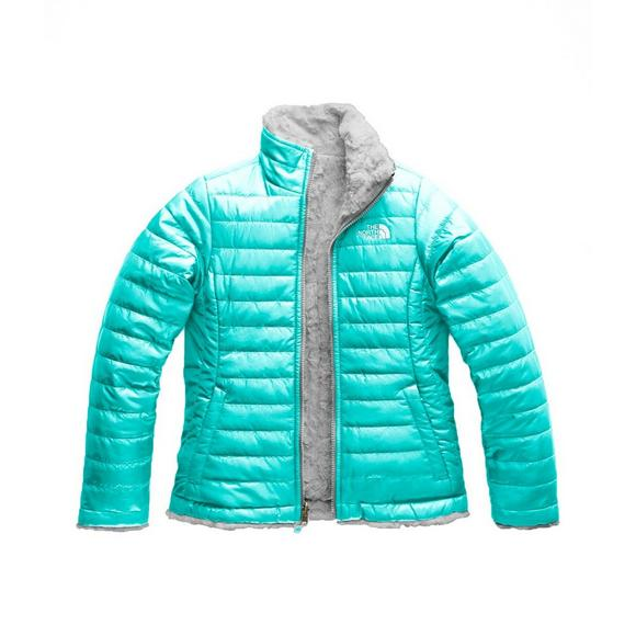 492a35c70 The North Face Girls' Reversible Mossbud Swirl Full Zip Jacket
