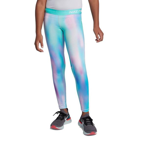 34c21ccd7f346 Nike Girls' Pro Warm Unicorn Printed Tights - Main Container Image 1