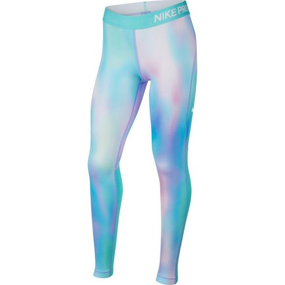 Nike Girls  Pro Warm Unicorn Printed Tights - Main Container Image 1 eacb0b1fd94