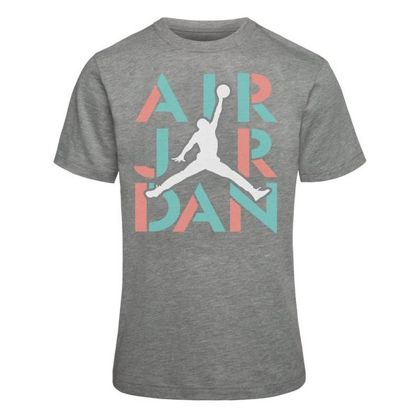 2c04d6b80b8a Display product reviews for Jordan Girls  AJ5 Stack Short Sleeve T-Shirt