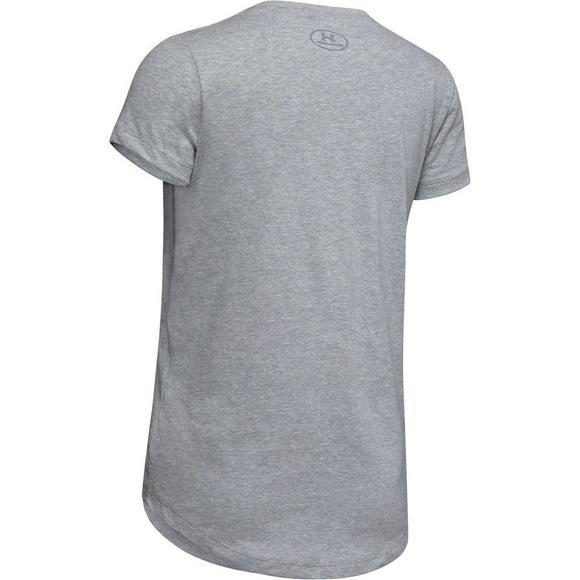2fc69c9fd6 Under Armour Girls' Love Field Softball Short Sleeve Shirt