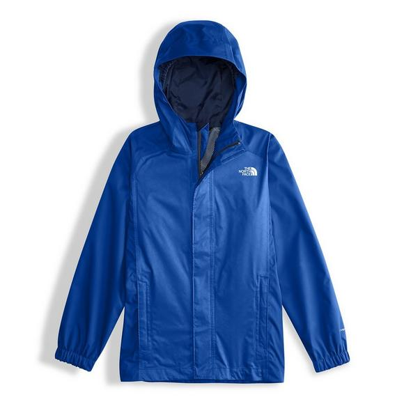 ccf6e3c5d610 The North Face Boys  Resolve Blue Reflective Jacket - Main Container Image 1