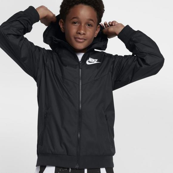 a3af17040febb Nike Boys' Sportswear Windrunner Full Zip Jacket - Main Container Image 2