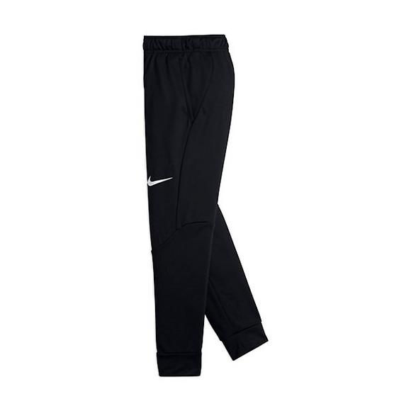 84ff94d3b8b1 Nike Boys  Therma Pants-Black White - Main Container Image 1