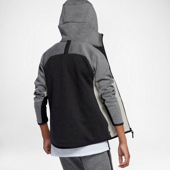 ee355ee44ab8 Nike Boys  Sportswear Tech Fleece Windrunner Hoodie - Main Container Image 2
