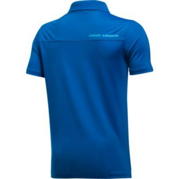 e2894235 Under Armour Little Boys' Performance Golf Polo - Main Container Image 2