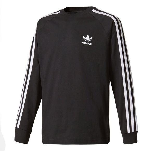 stable quality official images half price adidas Originals Boys' California Long Sleeve T-Shirt ...