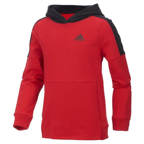 hot products official photos innovative design adidas Boys' Vital Pullover Hoodie - Red/Black - Hibbett ...