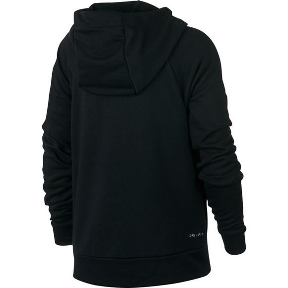 3a9507d98f9 Nike Boys  Dry Graphic Training Pullover Hoodie - Black Crimson - Main  Container Image
