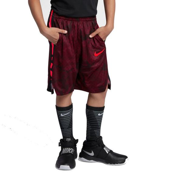 26762f7f9b21 Nike Boys  Dry Elite Basketball Shorts-Red Black - Main Container Image 1