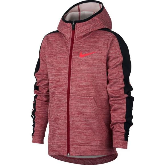 85445382cfa2 Nike Boys  Therma Elite Full-Zip Basketball Pullover - Main Container Image  1