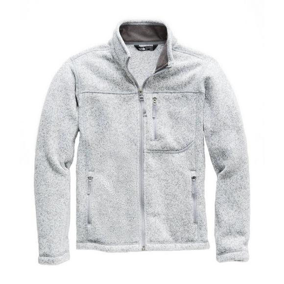 b8231c1c7f79 The North Face Boys' Gordon Lyons Full Zip Jacket - Light Grey - Main  Container