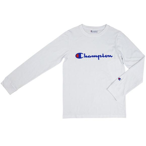 8e96473ce9 Champion Boys  Heritage Long Sleeve T-Shirt - Main Container Image 1