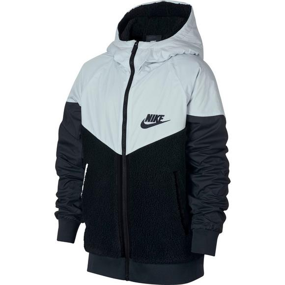 Nike Boys  Sportswear Windrunner Sherpa Jacket - Main Container Image 1 503c789eb