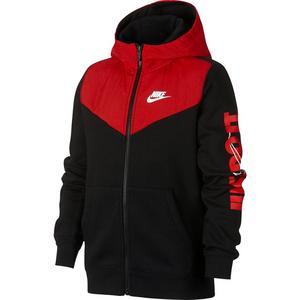 46d41693d60ac2 Nike Sportswear Boys  Hooded Full-Zip Graphic Top