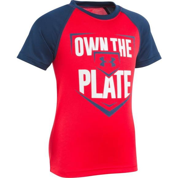 e1d6a3b2 Under Armour Little Boy's Own The Plate Raglan Tee - Main Container Image 1