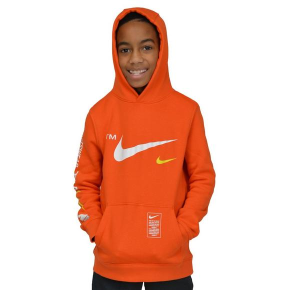 retail prices outlet store sale 50% off Nike Sportswear Boys' Club Fleece Pullover Hoodie - Hibbett ...