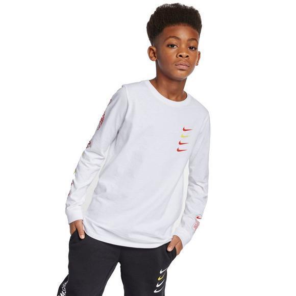 f9ad2b955aac8a Nike Sportswear Big Kids  Long-Sleeve T-Shirt - Main Container Image 1