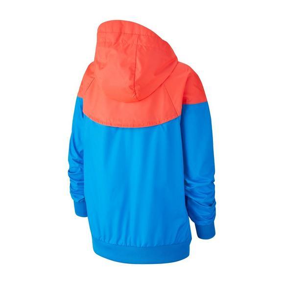 81e819e1ebe7 Nike Sportswear Boys  Windrunner Graphic Jacket - Hibbett US
