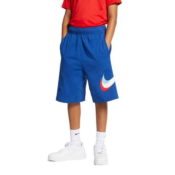 cbf7d4134 Nike Sportswear Boys' Knit Shorts - Blue/Red - Main Container Image 1