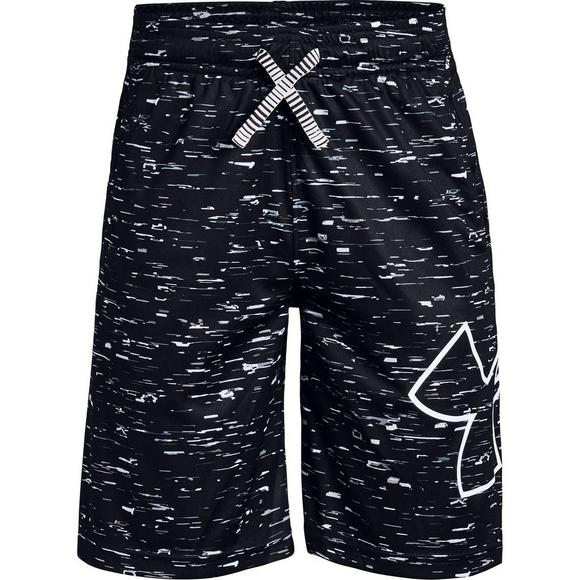 a44f9a8bef Under Armour Boys' Renegade Printed Black/White Shorts