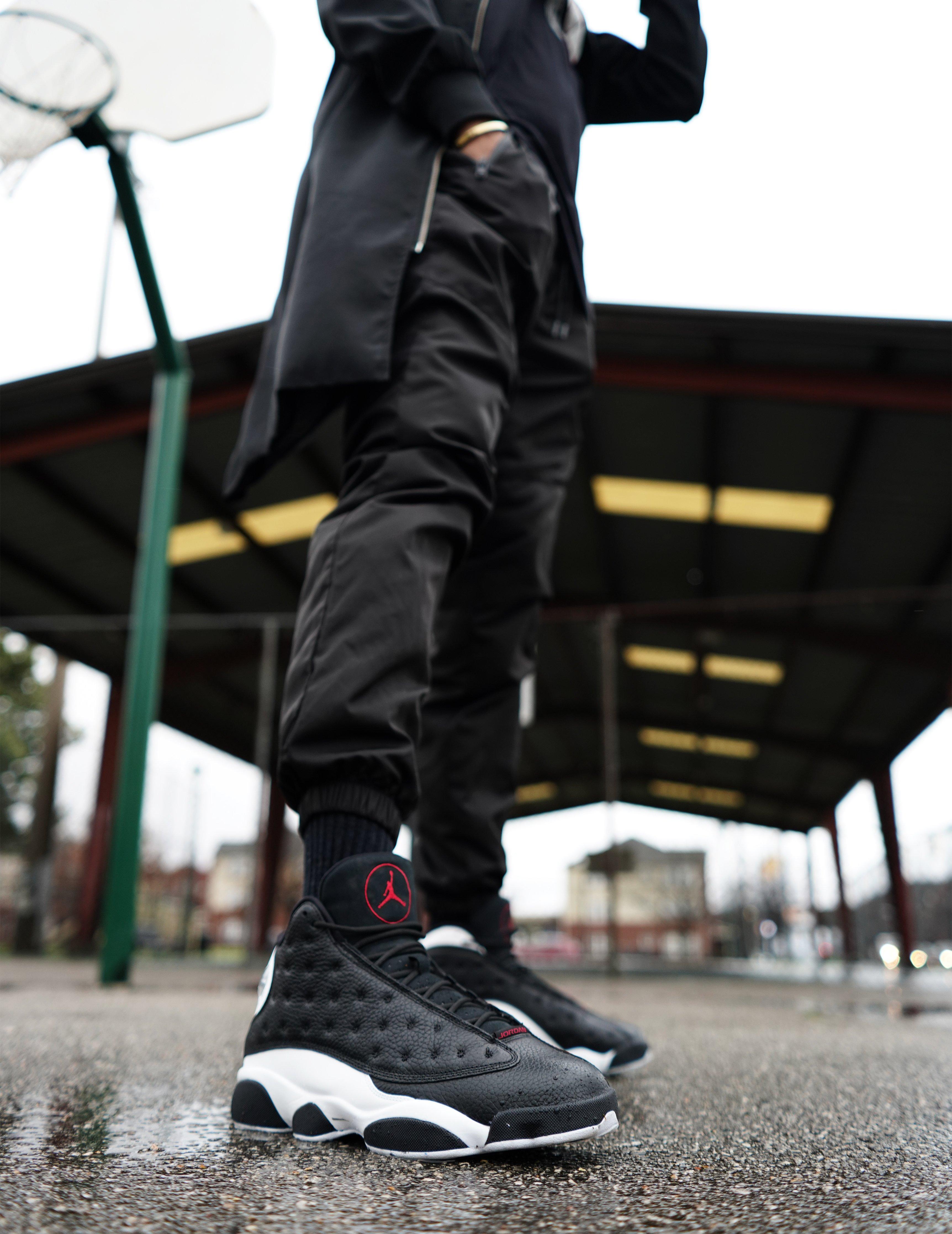 """función Cesta Rápido  Sneakers Release – Air Jordan Retro 13 """"Reverse He Got Game"""" Black/Gym  Red/White Basketball Shoe"""