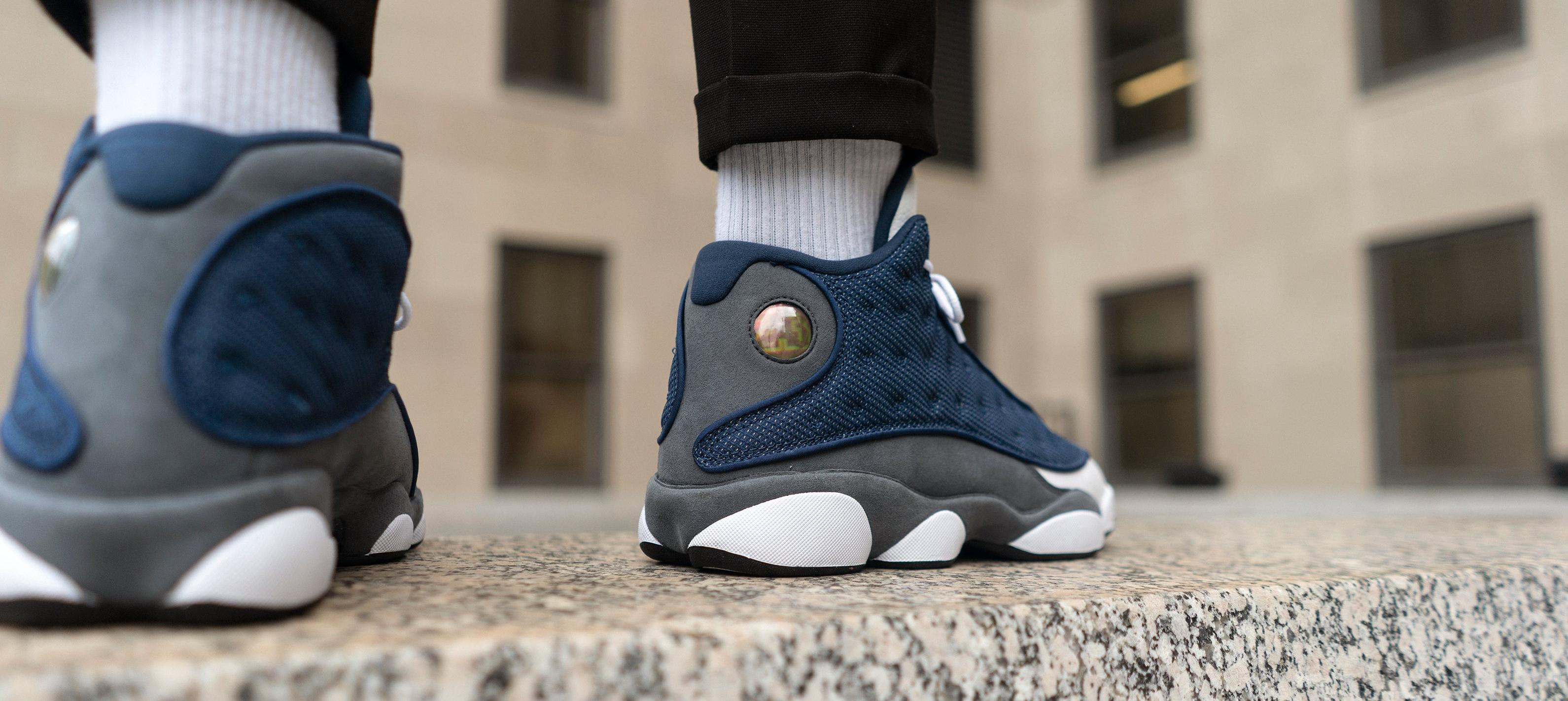 "Jordan 13 Retro ""Flint"" Men's and Kids' Basketball Shoe"