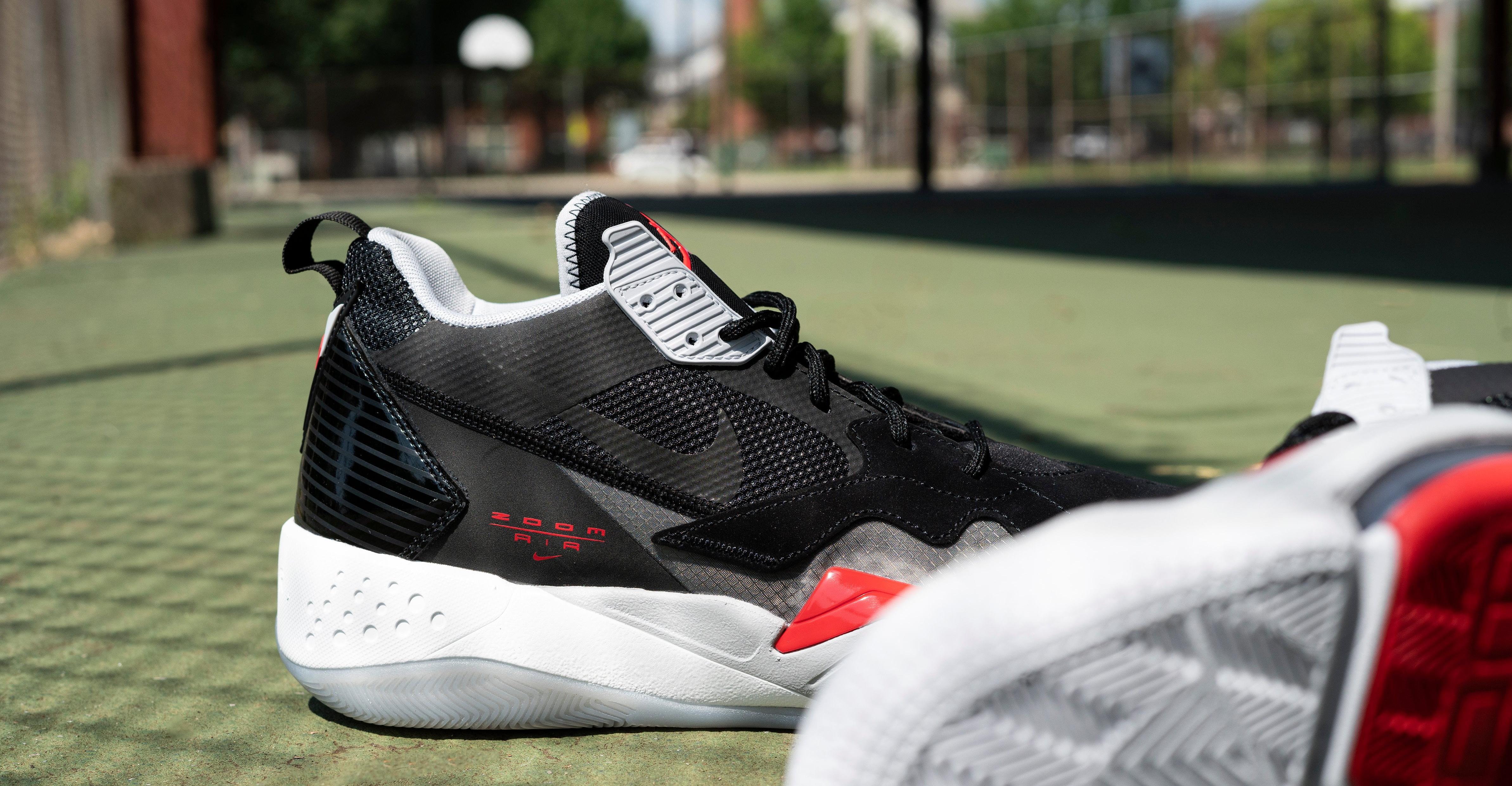 """Air Jordan Zoom '92 """"Olympic"""" Black/Red Men's Shoe"""
