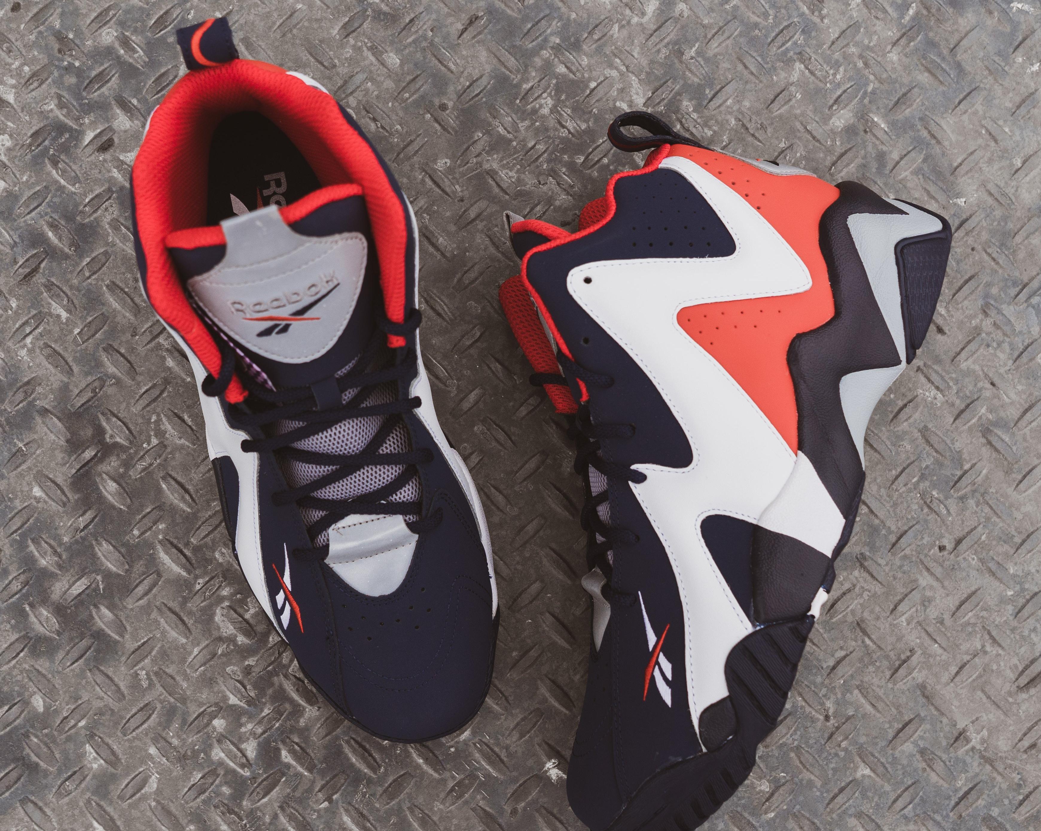 """Reebok Kamikaze 2 """"Vector Navy/White/Vector Red"""" Men's Basketball Shoe"""