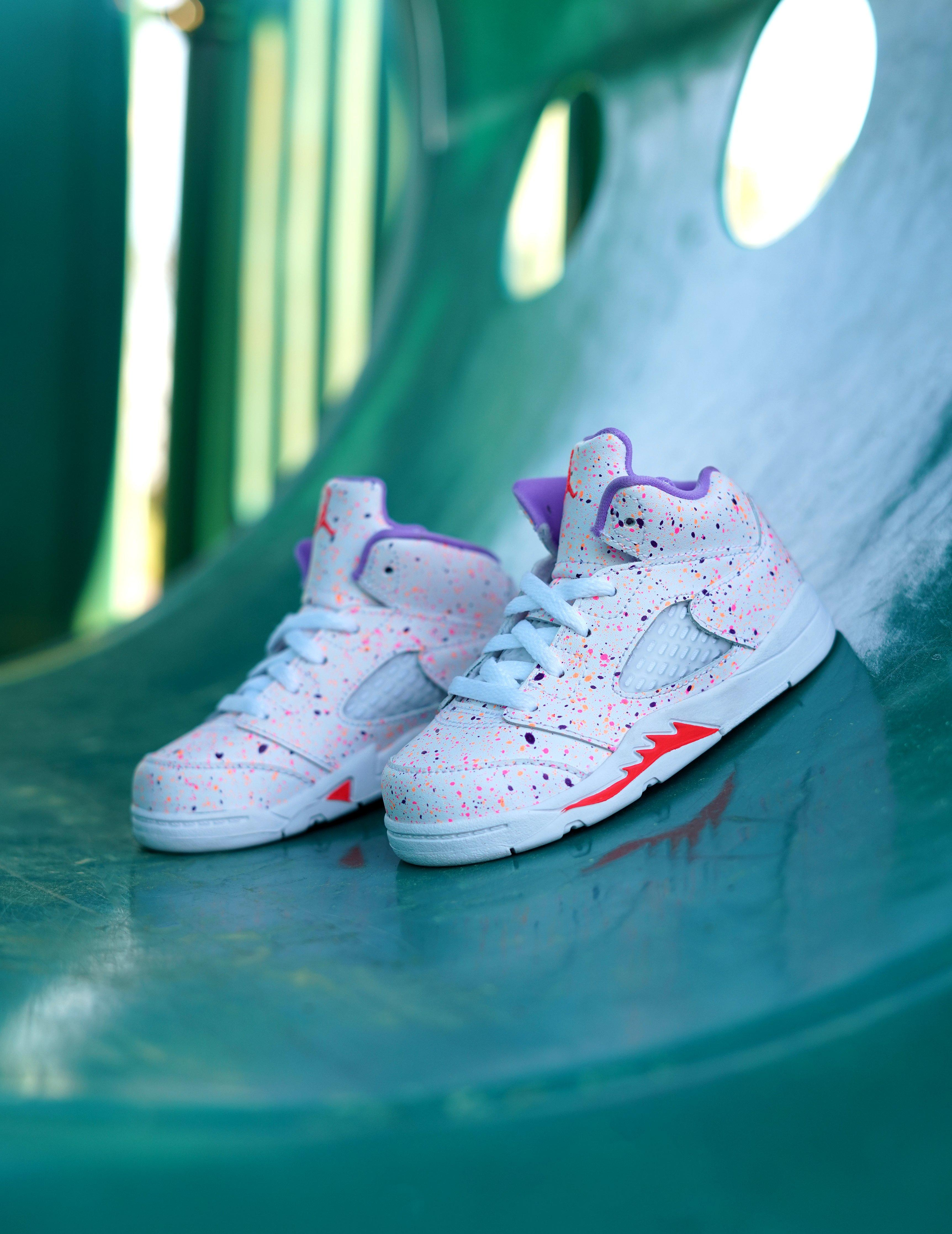 """Jordan 5 Retro """"Easter"""" Girls' Sneaker"""