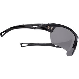 f63983f0a92c Under Armour Octane Sunglasses- Shiny Black
