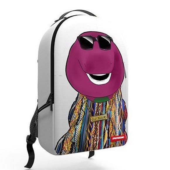 7d67d30a6e4de5 Sprayground Biggie Barney Backpack - Main Container Image 1