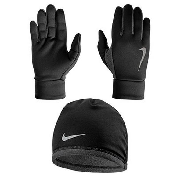 Nike Men s Running Thermal Beanie   Glove Set - Main Container ... 2ac9446cc9e