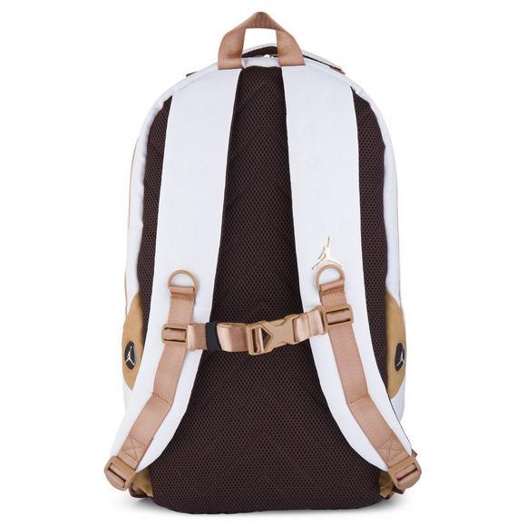 new product d5dc8 d80b4 Jordan Retro 13 Backpack- White - Hibbett US