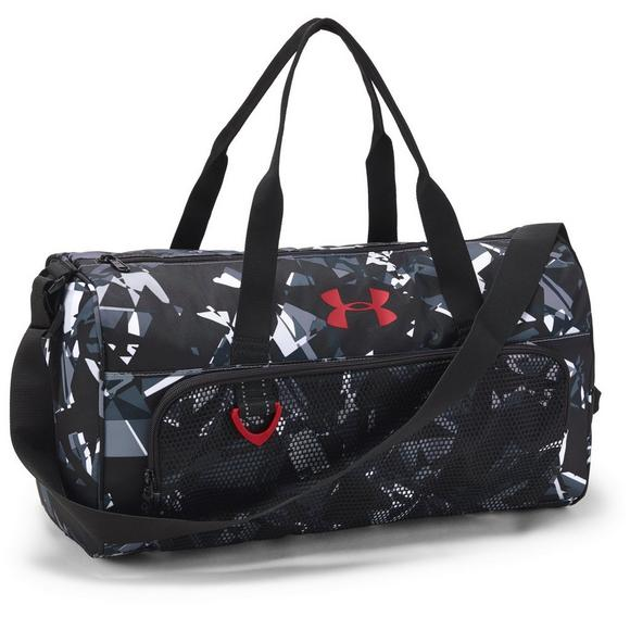 5844149e7bcc Under Armour Select Duffel Bag - White Black - Main Container Image 1