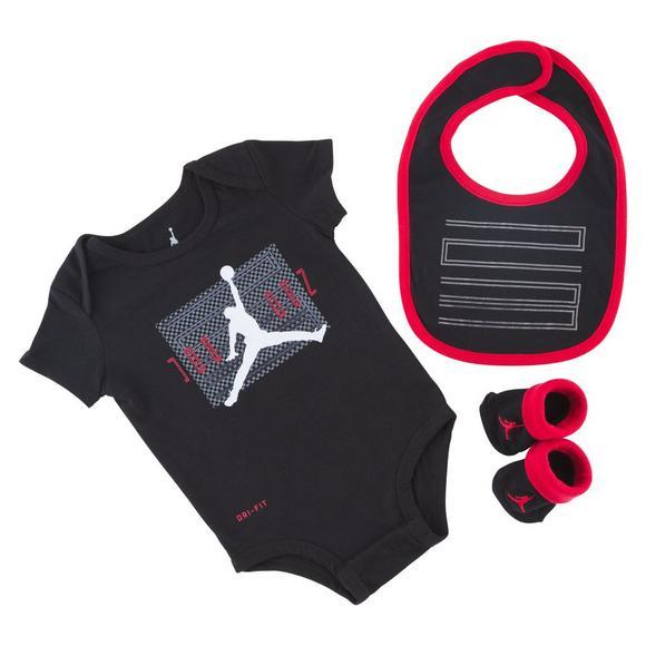 46df9e7fcc1 Jordan 11 3 Piece Infant Onesie Set - Main Container Image 1