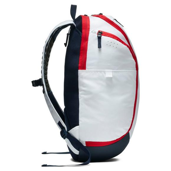 f4e49f7ee9fc Nike Hoops Elite Pro Basketball Backpack - White - Main Container Image 2