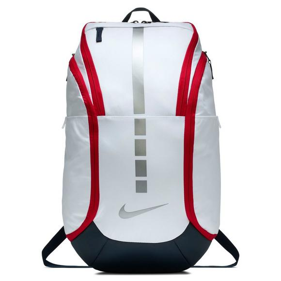 4b3ea1b7abb8 Nike Hoops Elite Pro Basketball Backpack - White - Main Container Image 1