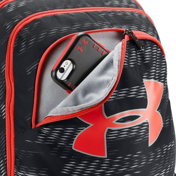 37b4c2f381 Under Armour Boys  Storm Scrimmage Backpack - Red Black - Main Container  Image 2