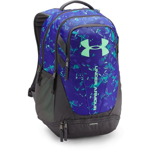4d8147c470 Under Armour Men s Hustle 3.0 Backpack - Blue Lime - Main Container Image 1