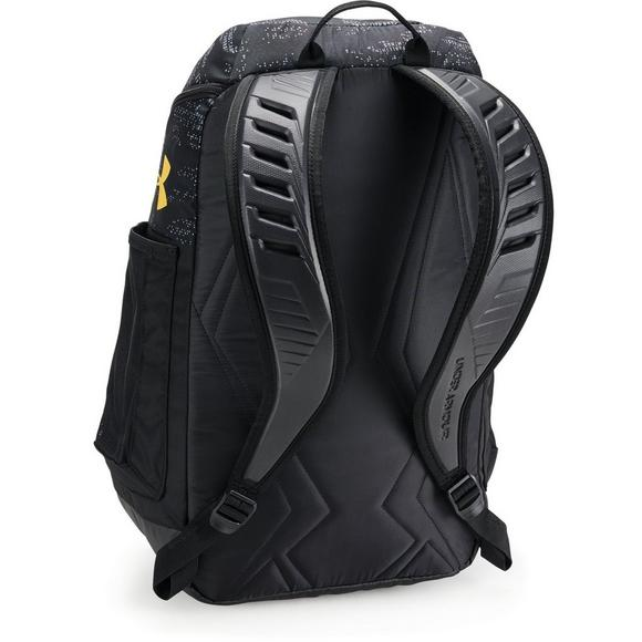 c3d42f3b61e Under Armour SC30 Undeniable Backpack-Black Yellow - Main Container Image 6