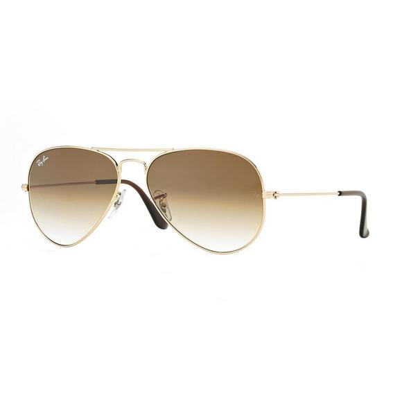 ddf1c4b068 Ray-Ban Aviator Gradient Sunglasses - Gold - Main Container Image 1