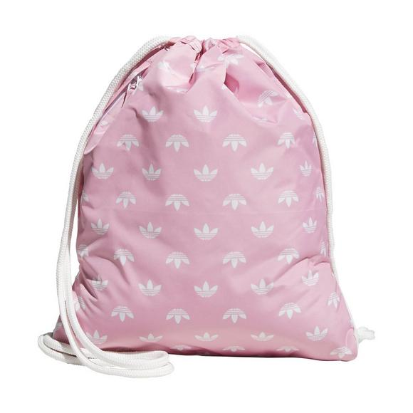adidas Originals Trefoil Sackpack - Light Pink - Main Container Image 2 23435446ef7f1