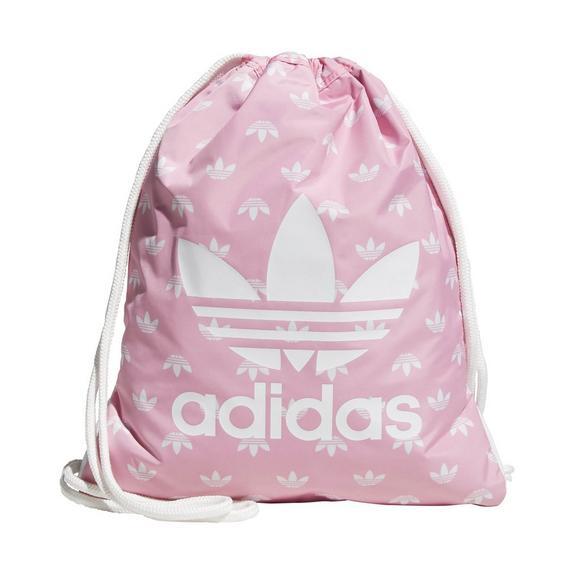 2a969b233d adidas Originals Trefoil Sackpack - Light Pink - Hibbett US