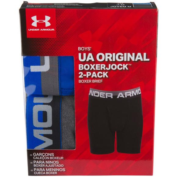0030a5413 Under Armour Boys' 2-Pack Performance Boxer Brief