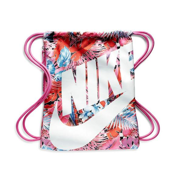 ce26c1875 Nike Heritage Floral Printed Gym Sack - Main Container Image 1