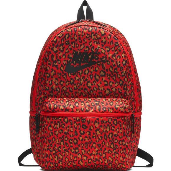 3e7619e8f3c3a Nike Heritage Red Printed Backpack